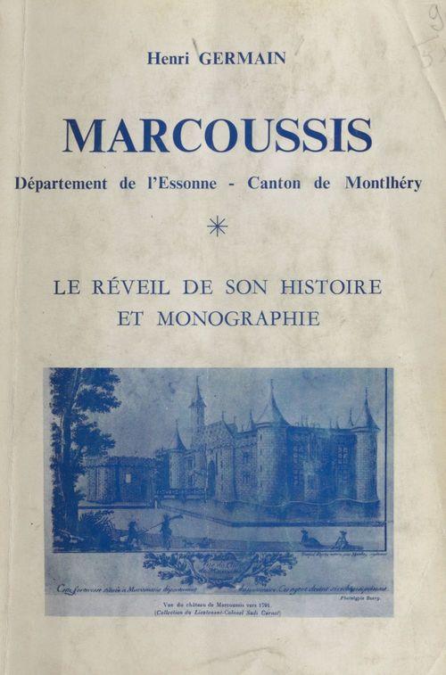 Marcoussis, Département de l'Essonne, Canton de Montlhéry