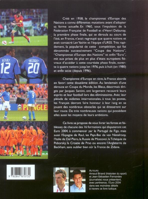 Euro 2004 - le guide detaille