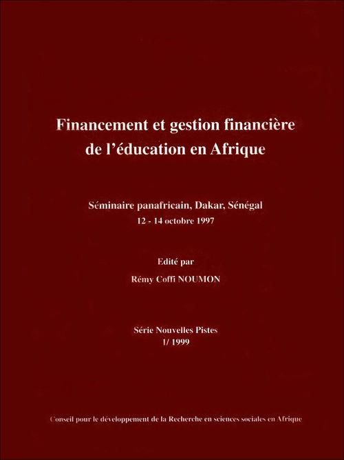 Financement et gestion financière de l'éducation en Afrique