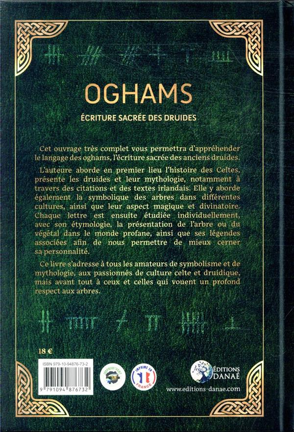 Ogham : écriture sacrée des druides