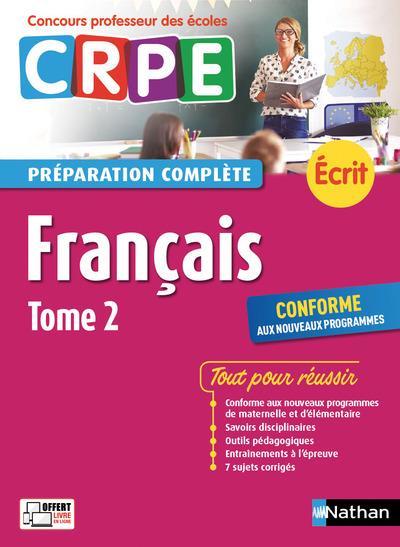 Français t.2 ; préparation complète ; écrit (édition 2017)