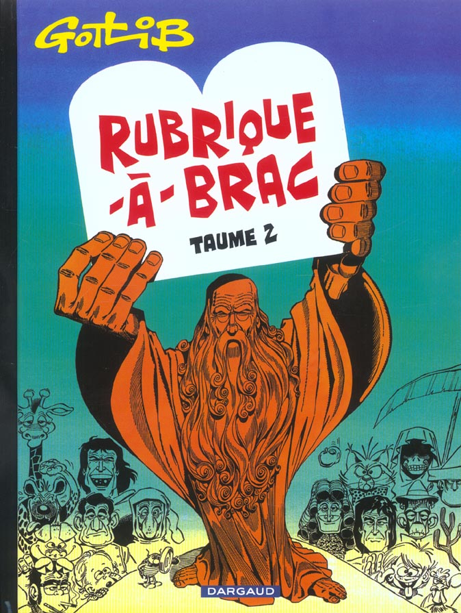 GOTLIB - RUBRIQUE-A-BRAC - TOME 2 - RUBRIQUE-A-BRAC - TOME 2