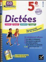 Dictees 5eme Edition 2016 Fabienne Sauve Hatier