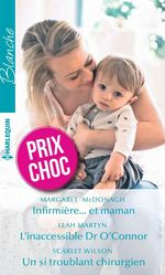 Vente Livre Numérique : Infirmière... et maman - L'inaccessible Dr O'Connor - Un si troublant chirurgien  - Margaret McDonagh - Leah Martyn