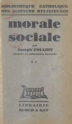 Morale sociale (2)