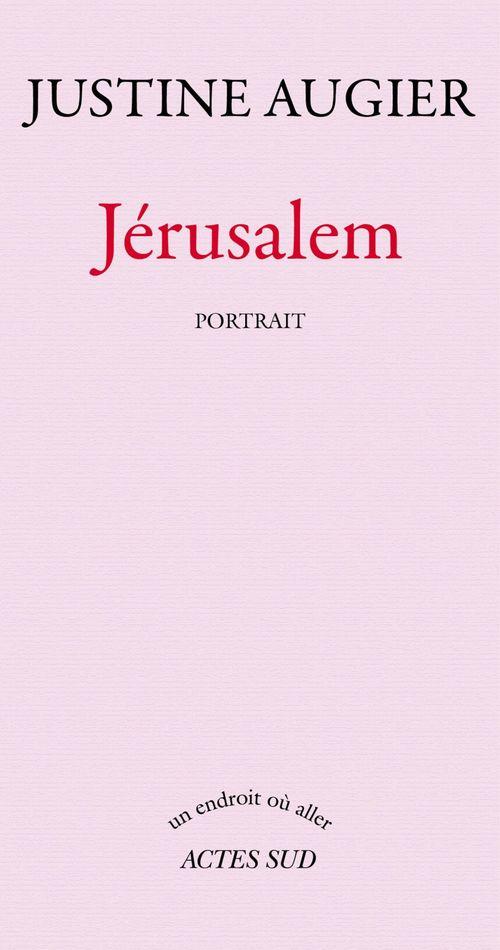 Jérusalem, portrait