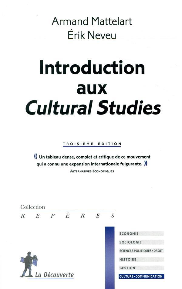 Introduction aux Cultural studies (3e édition)