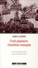 Couverture de Front populaire, révolution manquée
