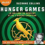Vente AudioBook : Hunger Games - La Ballade du serpent et de l'oiseau chanteur  - Suzanne Collins