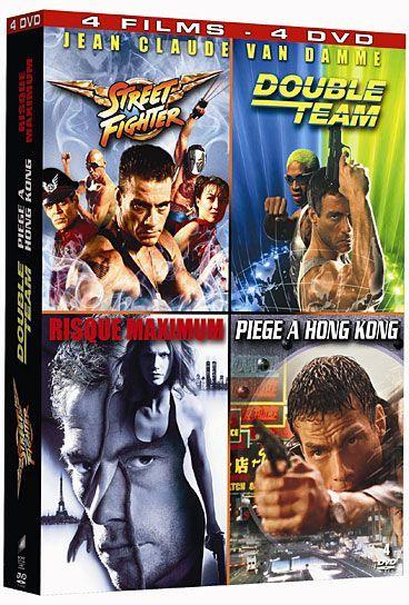 Jean-Claude Van Damme - Coffret - Street Fighter + Double Team + Risque Maximum + Piège à Hong Kong