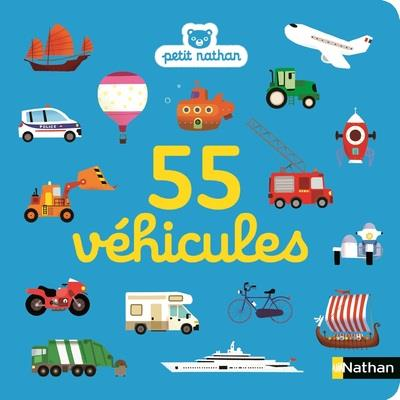 55 véhicules