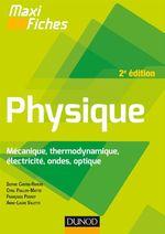 Vente Livre Numérique : Maxi fiches de Physique - 2e édition  - Francoise Perrot - Anne-Laure Valette Delahaye - Cyril Pailler-Mattei - Sophie Cantin-Rivière