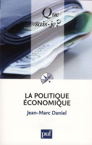 La politique économique (3e édition)