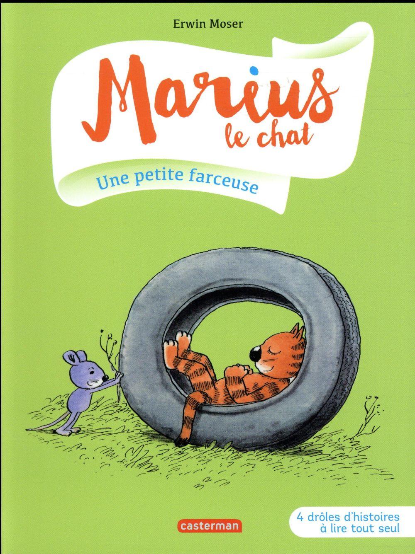 Marius le chat T.9 ; une petite farceuse