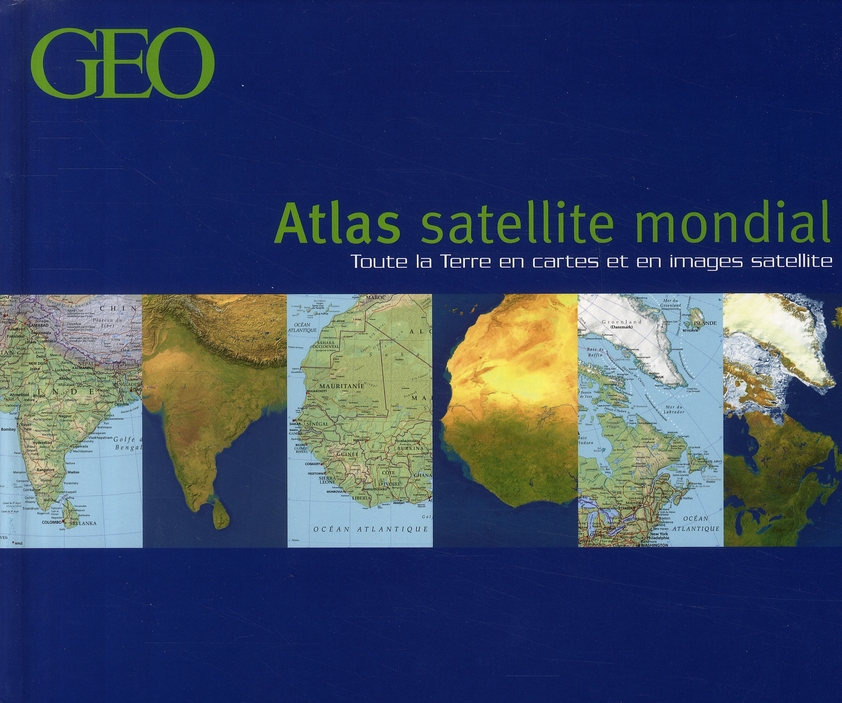 Atlas satellite mondial