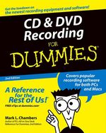 Vente Livre Numérique : CD and DVD Recording For Dummies  - Mark L. CHAMBERS