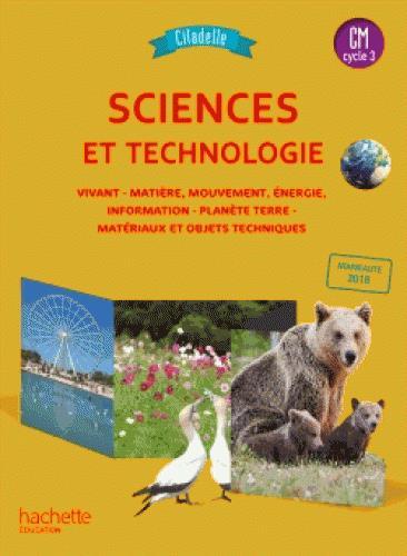 Citadelle ; sciences ; livre de l'élève (édition 2018)
