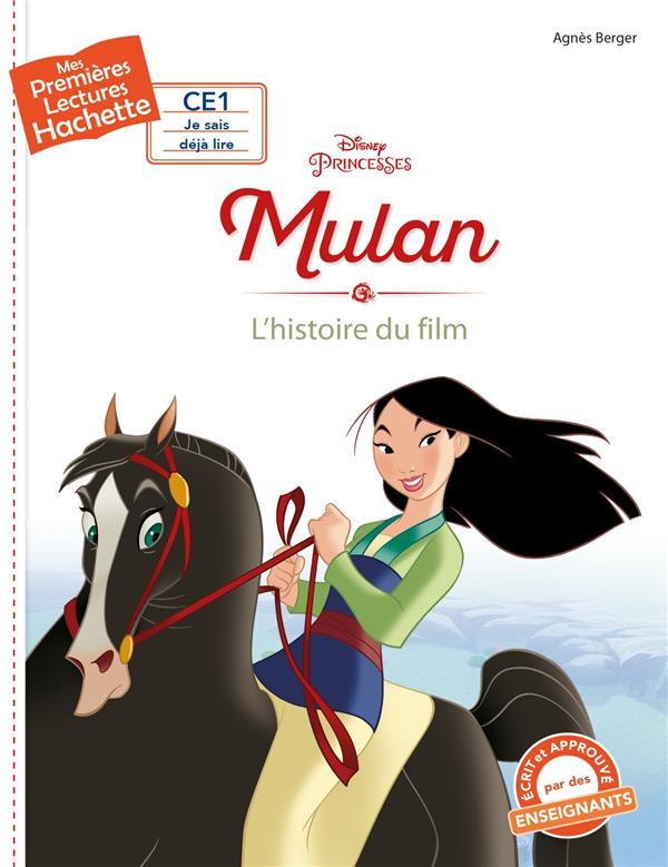 Mes premières lectures ; CE1 ; Mulan ; l'histoire du film