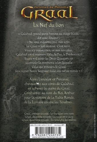 Graal t.3 ; la nef du lion