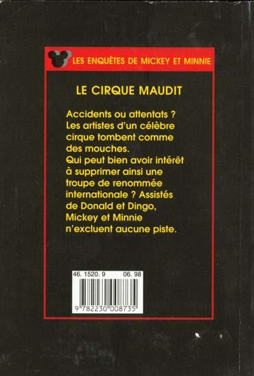 les enquêtes de Mickey et Minnie ; le cirque maudit