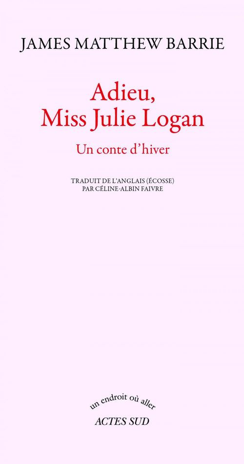 adieu, Miss Julie Logan