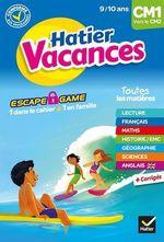 Vente EBooks : Cahier de vacances 2020 du CM1 vers le CM2 9/10 ans  - Yannick Robert - Thomas Cambarot