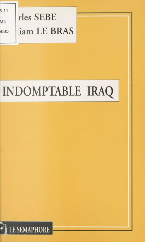 Indomptable irak