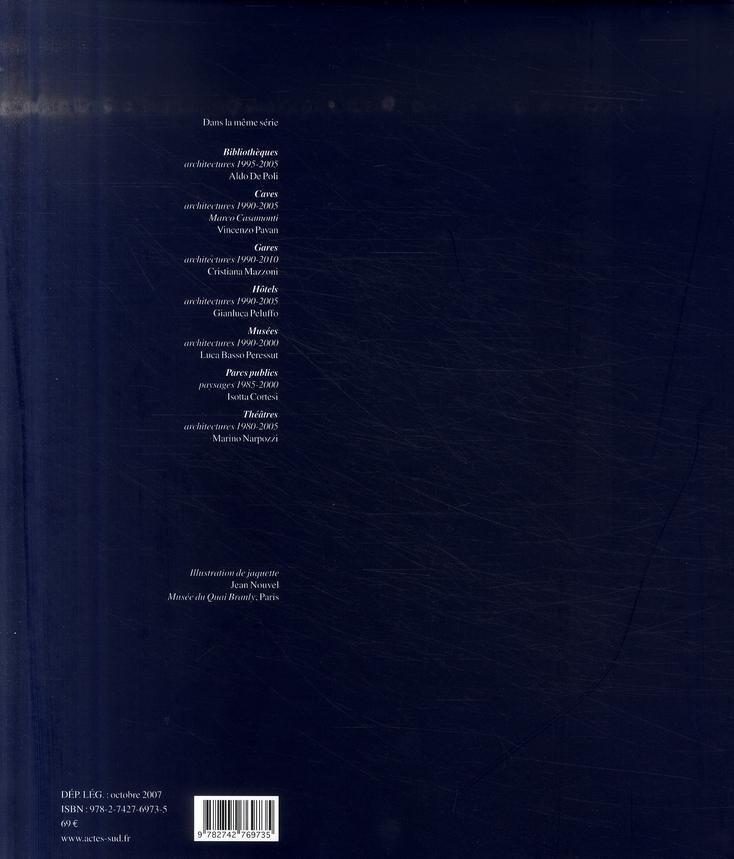 Musées t.2 ; architectures 2000-2006