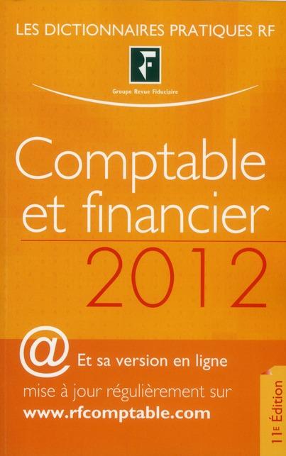 Dictionnaire Comptable Et Financier 2012