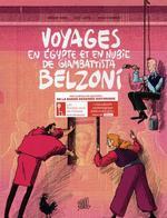 Couverture de Coffret Voyages En Egypte Et En Nubie De Giambattista Belzon