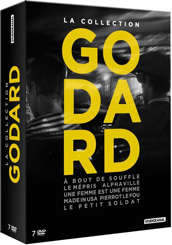 La Collection Godard: À bout de souffle + Le Mépris + Alphaville + Une Femme est une femme + Made in USA + Pierrot le Fou + Le Petit Soldat