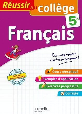 Réussir au collège ; français ; 5e