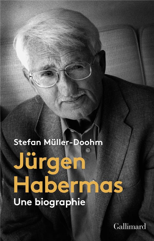 Jürgen Habermas ; une biographie