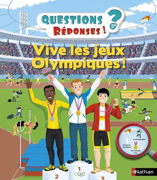 QUESTIONS REPONSES 5+ ; vive les jeux olympiques !