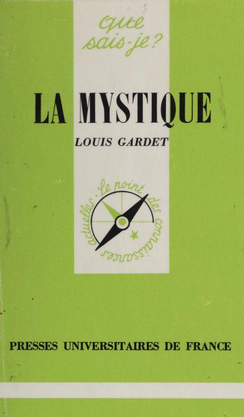 La mystique  - Louis GARDET