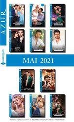 Pack mensuel Azur : 11 romans + 1 gratuit (Mai 2021)