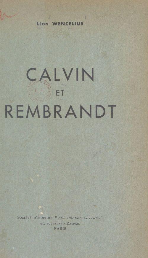 Calvin et Rembrandt