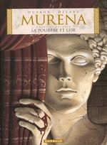 Couverture de Murena t.1 ; la pourpre et l'or
