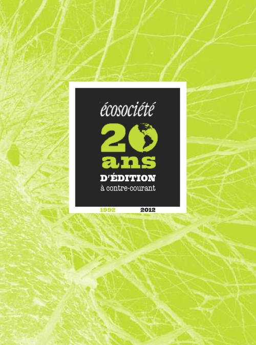 Catalogue Écosociété 2012