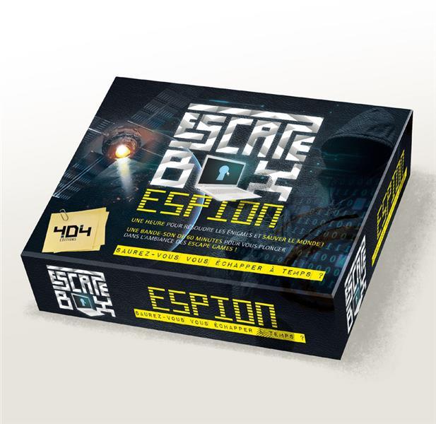 Escape box ; espion