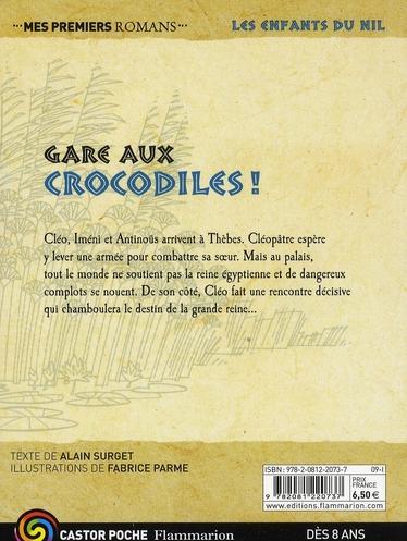 Les enfants du Nil t.14 ; gare aux crocodiles !
