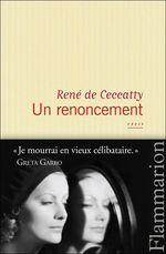 Vente EBooks : Un renoncement  - René DE CECCATTY