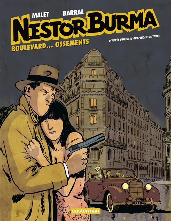 Nestor Burma T.8 ; Boulevard.... Ossements