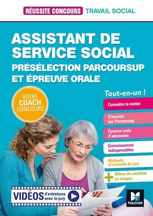 Réussite Concours Assistant de service social - ASS -Préselection Parcoursup + Ep orale  Préparation