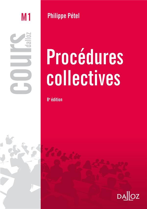 Procedures Collectives ; 8e Edition