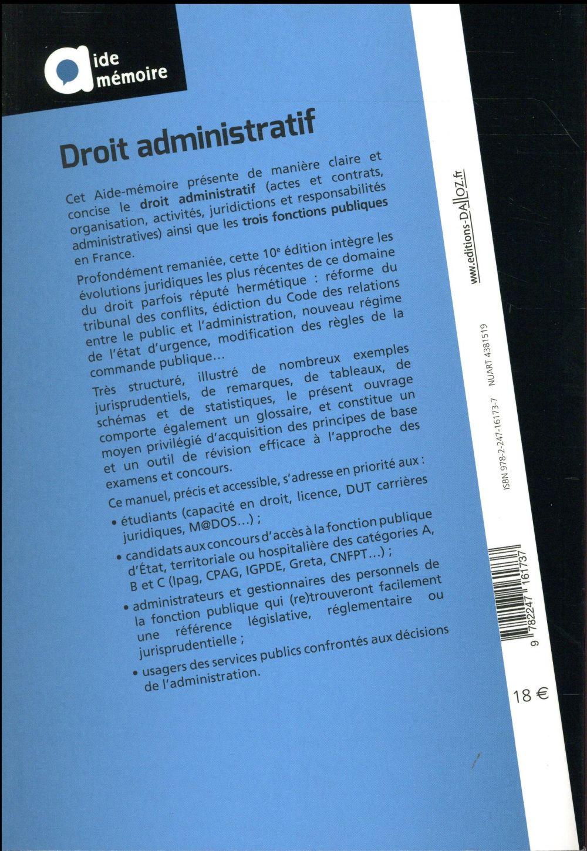 droit administratif (9e édition)