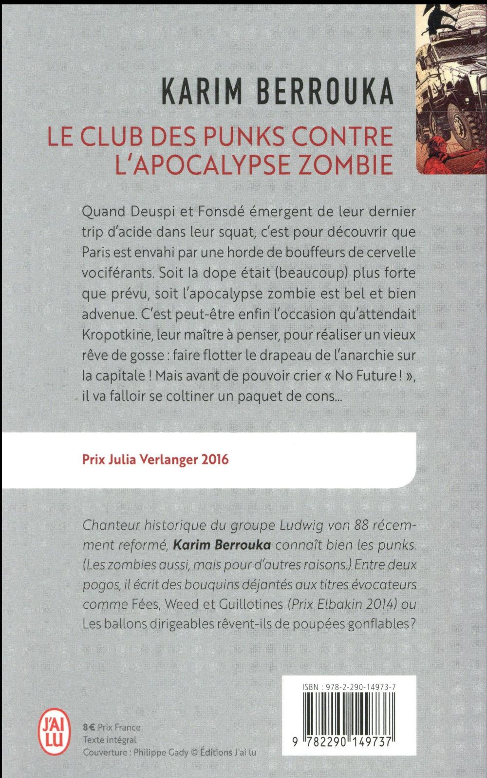 Le club des punks contre l'apocalypse zombie