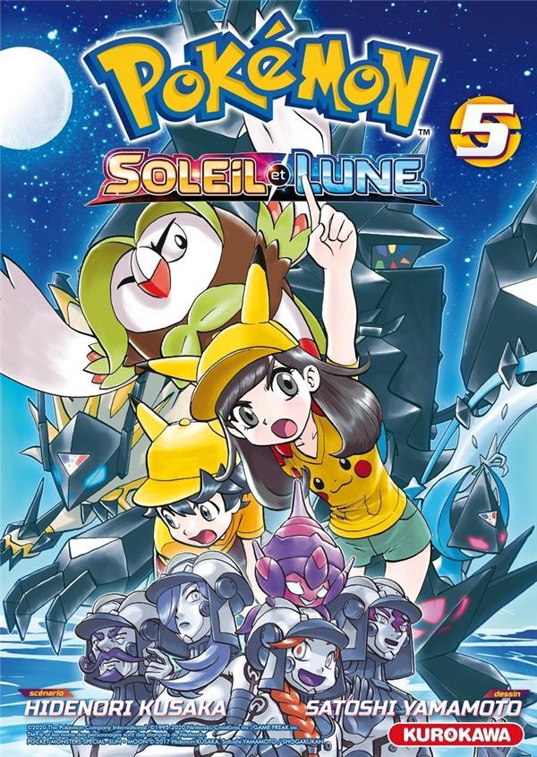 Pokémon ; la grande aventure - Soleil et Lune T.5