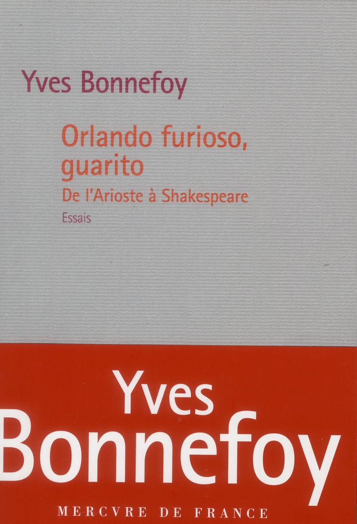 Orlando Furioso, Guarito ; de l'Arioste à Shakespeare