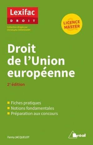 droit de l'Union européenne (2e édition)